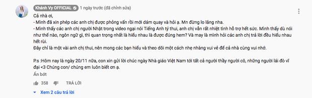 """Đăng clip thử tài nói tiếng Anh của người Nhật, """"hotgirl 7 thứ tiếng"""" Khánh Vy bất ngờ vì phản ứng trái chiều của dân mạng - Ảnh 3."""