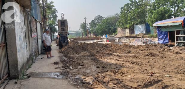 Hà Nội: Thi công dự án làm đường, nhà dân có nguy cơ sập bất cứ lúc nào - Ảnh 13.