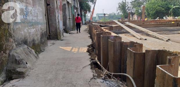 Hà Nội: Thi công dự án làm đường, nhà dân có nguy cơ sập bất cứ lúc nào - Ảnh 14.