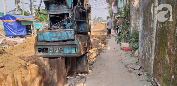 Hà Nội: Thi công dự án làm đường, nhà dân có nguy cơ sập bất cứ lúc nào - Ảnh 15.