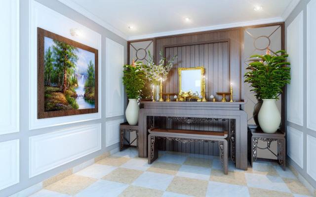 Nhà 1 trệt 1 lầu phong cách cổ điển đẹp sang trọng - Ảnh 6.