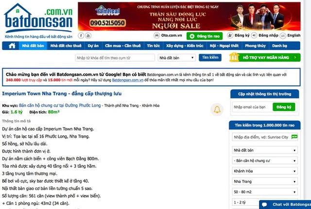 Phớt lờ lệnh cấm, dự án bất động sản khủng tại Nha Trang vẫn mở bán rầm rộ - Ảnh 3.