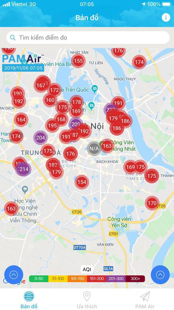 Ô nhiễm không khí Hà Nội đặc biệt nghiêm trọng vào sáng nay - Ảnh 1.