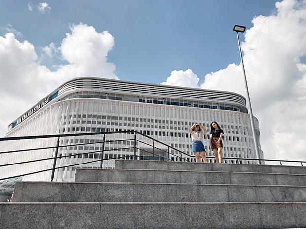 Khám phá Ngôi nhà hình lục giác trị giá hơn 400 tỷ đồng đang làm mưa làm gió sinh viên Sài Gòn - Ảnh 20.