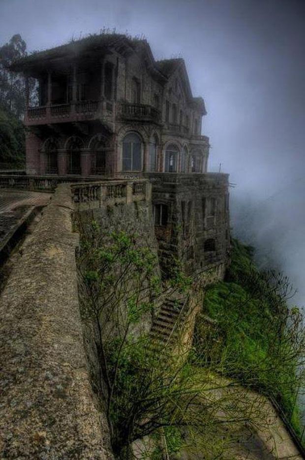 Hotel del Salto: Từ khách sạn sang dành cho giới quý tộc đến địa điểm tự tử nổi tiếng, gắn liền với những lời đồn chết chóc kì lạ - Ảnh 9.