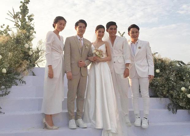 Cập nhật: 200 sao Việt xúng xính váy áo dự đám cưới đẹp như mơ của Đông Nhi - Ông Cao Thắng - Ảnh 6.
