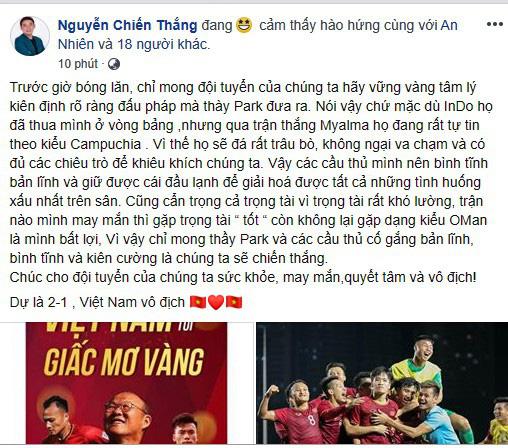 BTV Quang Minh dự đoán bất ngờ về Quang Hải ở trận U22 Việt Nam - U22 Indonesia - Ảnh 3.