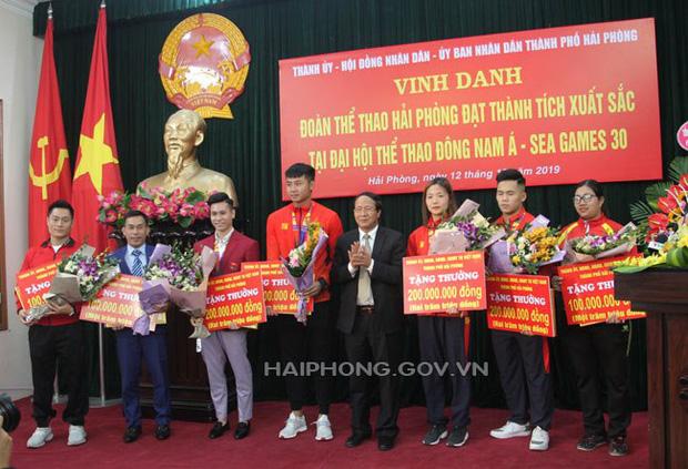 Mức thưởng cho đoàn VĐV Việt Nam tại SEA Games 30: Tối thiểu là 65 triệu đồng/HCV - Ảnh 2.