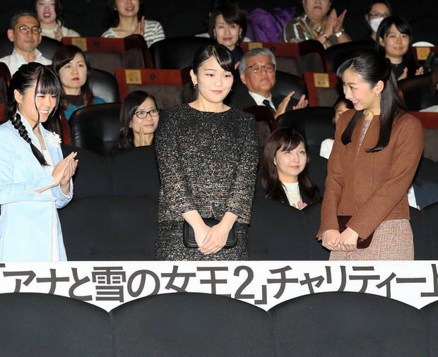 Hai công chúa Nhật Bản hiếm hoi đi dự sự kiện cùng nhau: Người tươi vui rạng rỡ, người trầm lặng gượng cười - Ảnh 3.