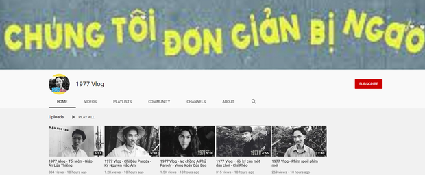 1977 Vlog giữa tâm bão: Thừa nhận không tự ẩn video, còn bị kẻ khác tranh thủ nhái YouTube y hệt - Ảnh 3.