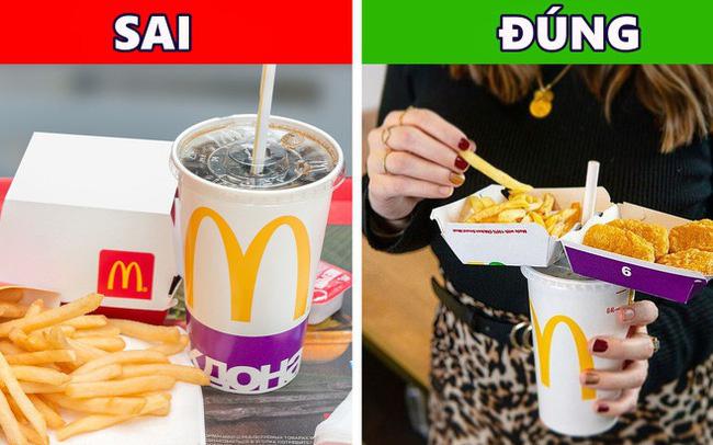 """Nghe McDonald's hé lộ cách ăn đồ ăn nhanh """"đúng chuẩn"""", hóa ra bao nhiêu năm nay chúng ta đều sai hết rồi?"""