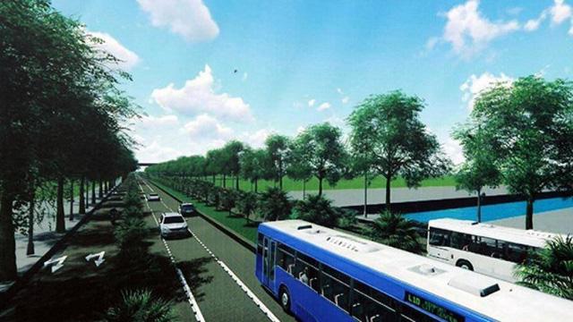 Hà Nội: Gần 1.500 tỷ làm đường Tây Thăng Long - Ảnh 1.