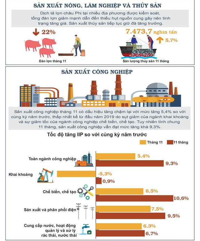Nhìn lại bức tranh kinh tế Việt Nam 11 tháng năm 2019 - Ảnh 1.