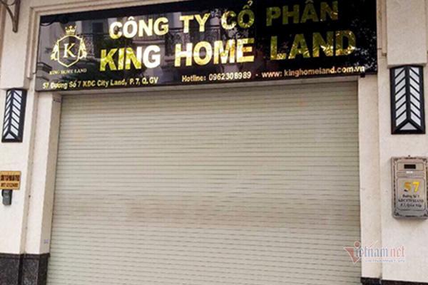 """Khách hàng căng băng rôn """"tố"""" Công ty King Home Land vẽ dự án """"ma"""" lừa đảo - Ảnh 2."""
