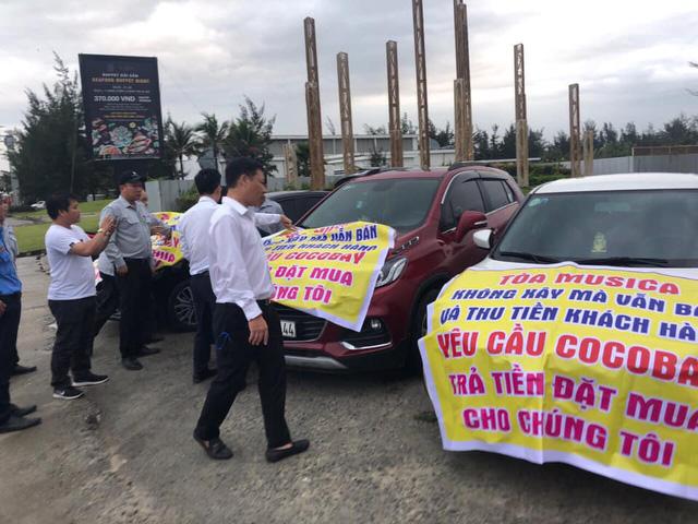 Băng rôn treo kín dự án Cocobay, khách hàng gửi đơn kiện lên Tòa án nhân dân Hà Nội: Thành Đô tuyên bố đơn phương hủy hợp đồng nếu hạn chót 30/12 khách hàng không chịu kí phương án  - Ảnh 5.