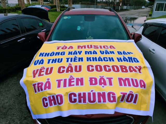 Băng rôn treo kín dự án Cocobay, khách hàng gửi đơn kiện lên Tòa án nhân dân Hà Nội: Thành Đô tuyên bố đơn phương hủy hợp đồng nếu hạn chót 30/12 khách hàng không chịu kí phương án  - Ảnh 6.