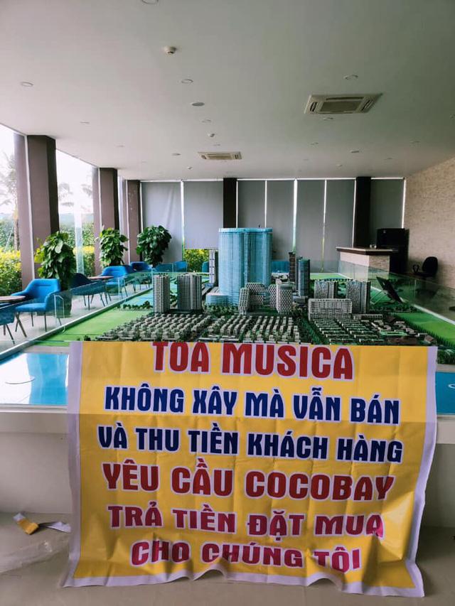 Băng rôn treo kín dự án Cocobay, khách hàng gửi đơn kiện lên Tòa án nhân dân Hà Nội: Thành Đô tuyên bố đơn phương hủy hợp đồng nếu hạn chót 30/12 khách hàng không chịu kí phương án  - Ảnh 7.