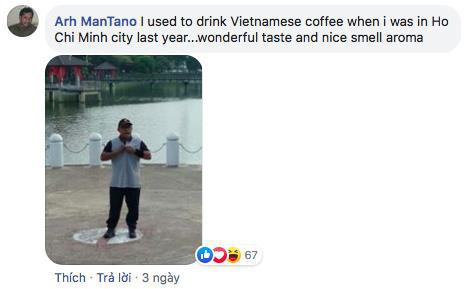 Vlogger nổi tiếng của Mỹ khen cà phê Việt Nam ngon nhất thế giới - Ảnh 3.