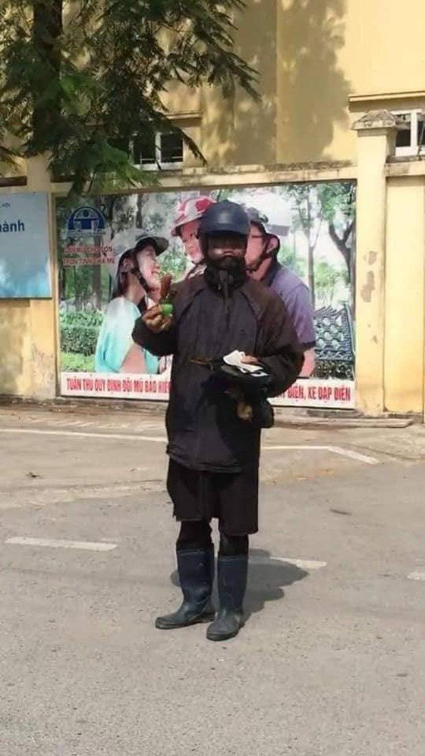 Hà Nội: Nữ chủ cửa hàng điện thoại kể lại giây phút đối mặt với đối tượng đen như Bao Công đập đĩa xin tiền vào cửa kính - Ảnh 2.