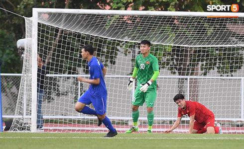 Việt Nam cho Thái Lan thành cựu vương sau trận hòa 2-2, tiến thẳng vào bán kết SEA Games gặp đối thủ Campuchia - Ảnh 32.