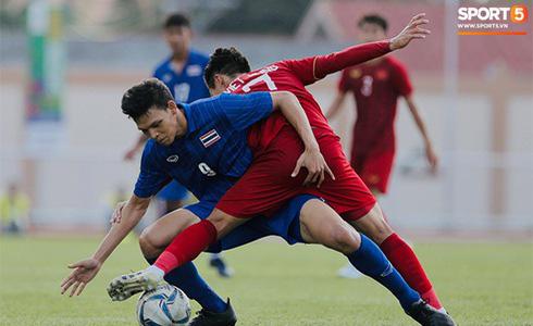 Việt Nam cho Thái Lan thành cựu vương sau trận hòa 2-2, tiến thẳng vào bán kết SEA Games gặp đối thủ Campuchia - Ảnh 38.