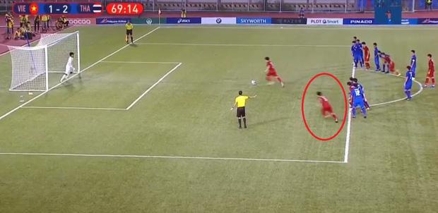 Vì sao U22 Việt Nam được trọng tài cho đá lại quả phạt đền? - Ảnh 5.