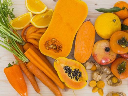 Bảy sắc cầu vồng rau củ quả giảm nguy cơ bệnh ung thư, tim mạch - Ảnh 1.