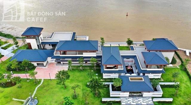 Bên trong khu dinh thự triệu đô ven sông Sài Gòn của giới nhà giàu ở Nhơn Trạch - Ảnh 4.