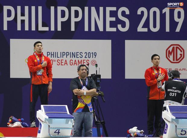 Siêu kình ngư Huy Hoàng khiến mẹ rơi nước mắt trước khi phá kỷ lục SEA Games 30 - Ảnh 5.