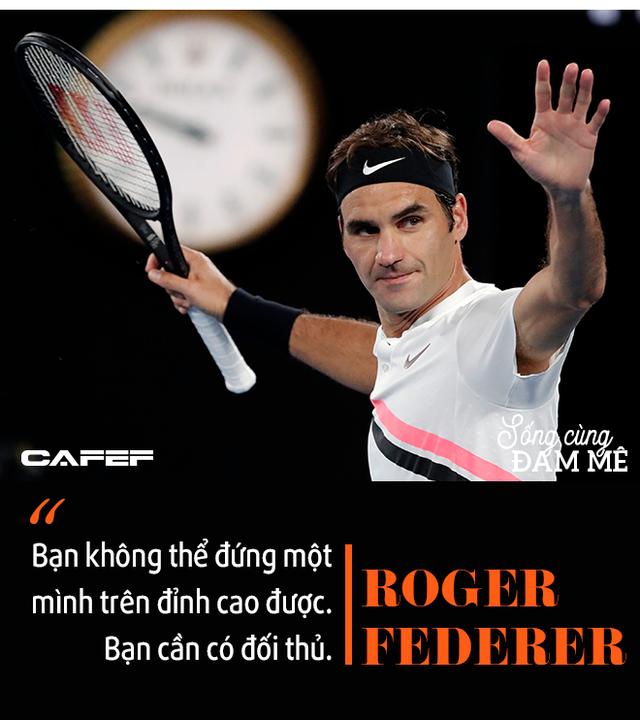 Chuyến tàu tốc hành không hồi kết của Roger Federer: Chiến thắng và trở thành huyền thoại, bất chấp sự hoài nghi, chấn thương và tuổi tác! - Ảnh 8.