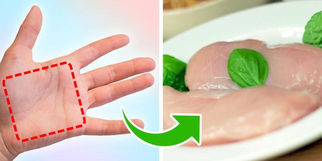 Mẹo đơn giản: Dùng bàn tay đo lượng thức ăn mỗi ngày, vừa khỏe mạnh lại tránh nguy cơ thừa cân, béo xấu xí - Ảnh 1.