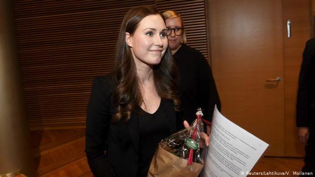 Chân dung bà Sanna Marin, vị thủ tướng trẻ nhất trong lịch sử  - Ảnh 1.