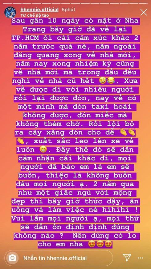 HHen Niê và câu chuyện sau khi hết nhiệm kỳ: Đi về một mình, phải tự bắt taxi - Ảnh 4.