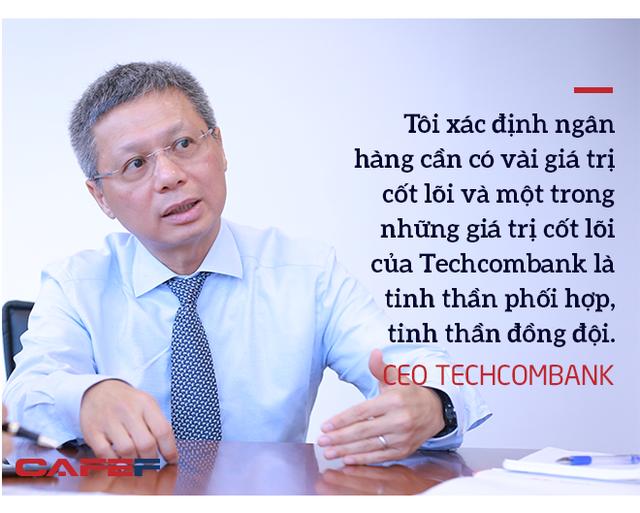 Ceo Techcombank: Trồng cây ăn quả phải mất 3-10 năm, thành quả của chúng tôi hôm nay đã được chuẩn bị từ 3-4 năm trước - Ảnh 6.