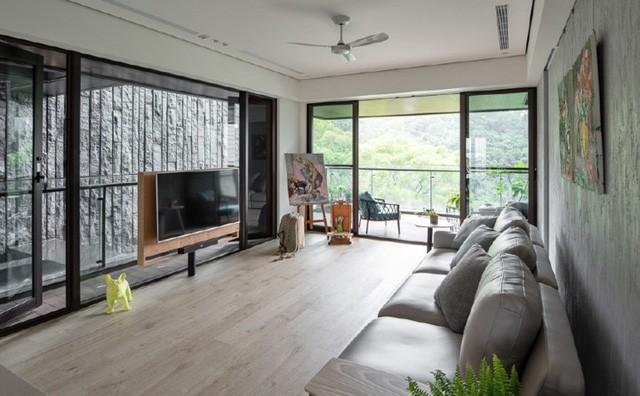 Ngôi nhà mang phong cách mở có 3 thế hệ sống chung - Ảnh 3.