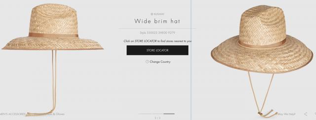 Mũ Gucci 9 triệu đồng giống với mũ nan hàng Việt giá 80.000 đồng - Ảnh 1.