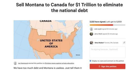 Nợ công cao, hàng ngàn người Mỹ đòi... bán bang Montana cho Canada - Ảnh 1.