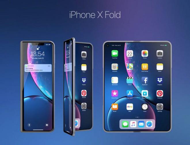iphone x fold - photo 1 1551015031011233255867 - Ý tưởng thiết kế iPhone X Fold này có thể là câu trả lời của Apple dành cho Galaxy Fold của Samsung