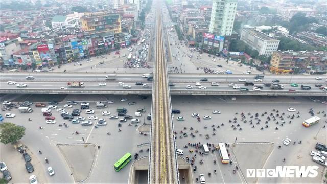 Ảnh: Những nút giao hiện đại làm thay đổi diện mạo Thủ đô nhìn từ flycam  - Ảnh 7.