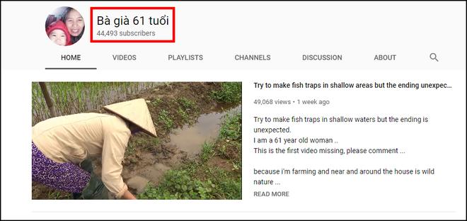 """hot youtuber - 1 15522860458741395457230 - Hiện tượng YouTube """"Bà già 61 tuổi"""" vẫn làm vlog ngầu như giới trẻ, 1 tuần kiếm triệu view và 45.000 sub"""