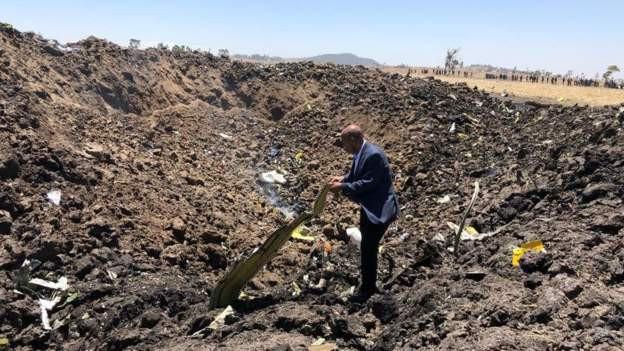 Vụ tai nạn máy bay thảm khốc ở Ethiopia: Cơ trưởng xin phép quay đầu ngay trước khi máy bay rơi - Ảnh 1.