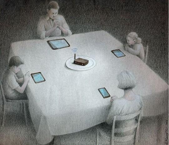 9 bức tranh khắc họa khoảng tối của cuộc sống hiện đại: Nếu không tự thoát khỏi những vòng trùng lặp, bạn đang tự biến mình thành cái máy - Ảnh 1.