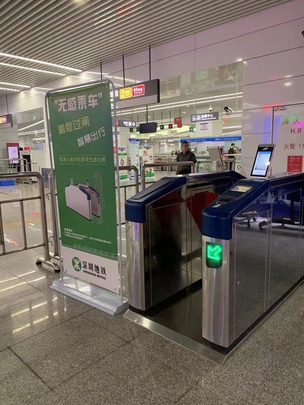 Mua vé tàu điện ngầm bằng nhận diện khuôn mặt tại Trung Quốc - Ảnh 1.