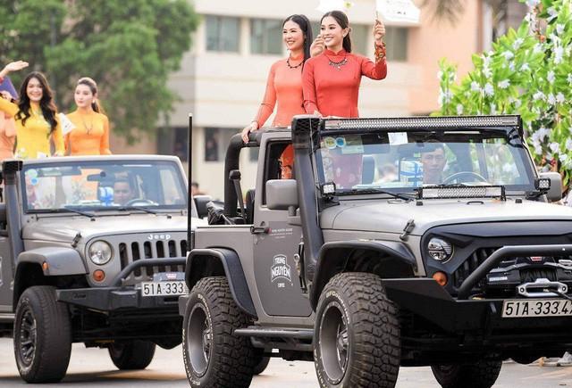 Dàn xe khủng của ông chủ cafe Trung Nguyên chở theo Hoa hậu và Á hậu, sẵn sàng hành trình xuyên Việt 2019 - Ảnh 12.