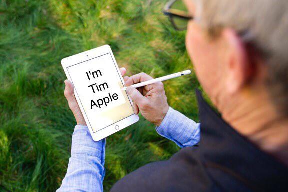 Tim Cook vừa khoe iPad mini 5 và Apple Pencil, dân tình đã kịp chế meme - Ảnh 5.