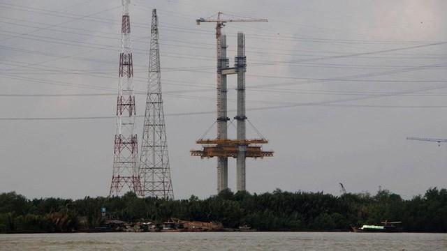 Ảnh: Cầu dây văng tĩnh không cao nhất Việt Nam trên cao tốc Bến Lức - Long Thành - Ảnh 8.