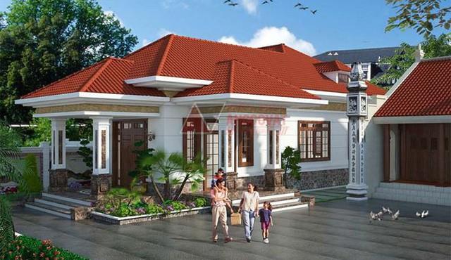 Mê mẩn những mẫu nhà cấp 4 kiểu Ấn Độ đẹp như biệt thự  - Ảnh 2.