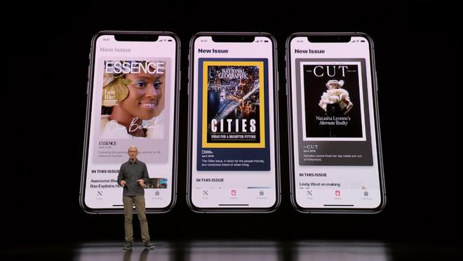 apple - photo 3 1553564557078372175067 - 5 phút để xem lại toàn bộ sự kiện của Apple đêm qua: ra mắt News+, thẻ tín dụng, nền tảng game Arcade và dịch vụ TV+