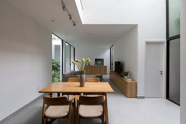 Nhà trong ngõ hẹp vẫn đẹp và tràn ngập ánh sáng - Ảnh 3.