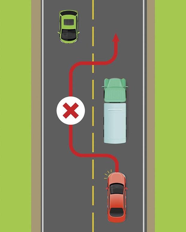 Kinh nghiệm quan trọng để tránh xe tải, xe container an toàn - Ảnh 4.